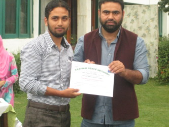 World Peace Day observed at Samad Island, Only Kashmir Bags Excellence in Journalism Award