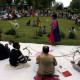 Folk artists keep audience spell bound at Shalimar Garden