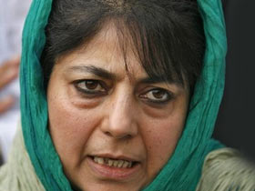 CM Mehbooba expresses dismay over frequent power cuts