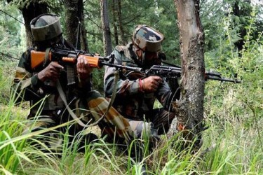 02 Militants killed, 01 surrenders in Shopian encounter