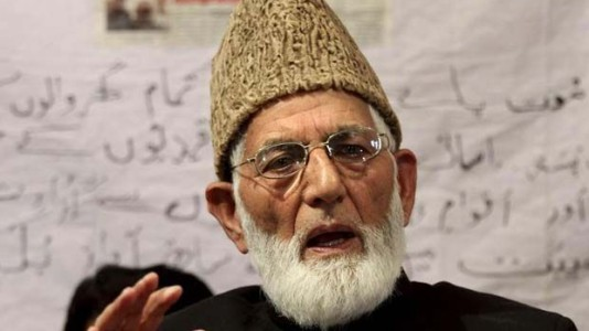 Geelani blames Indian agencies for killing his constituent party member