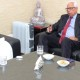 Vohra discusses Modi's Rs 80,000 crore package with Rajnath Singh