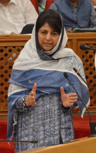 Mehbooba Mufti on foot to deepen her public outreach