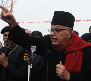 Farooq Abdullah 'backs' freedom movement and Hurriyat