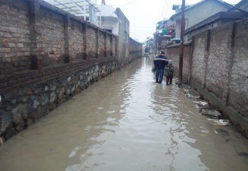 Water Logging & Bad Roads a public concern