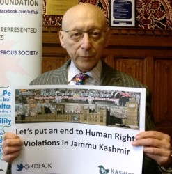 Sir Gerald Kaufman, Kashmir's sane voice in UK Parliament passes away