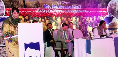 Every area of J&K is being promoted to attract tourists: Mehbooba Mufti
