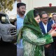 Governor presents Ambulances to Chief Minister