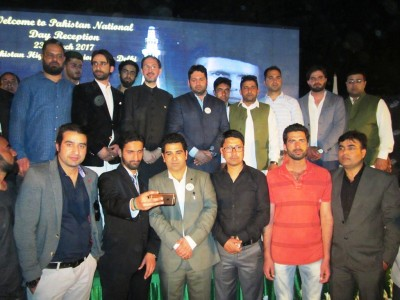 Kashmiri Youth presence steals show on Pakistan Day at Delhi Embassy