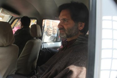 Yasin Malik arrested, shifted Central Jail Srinagar