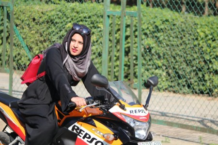 Meet Roshni Misbah, challenging gender stereotype via bike riding