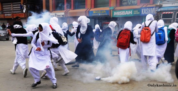 Authorities in Kashmir deeply disturbed by Student Unrest