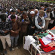 Thousands of people amid sobs and tears participated in funeral of Chadoora Militant