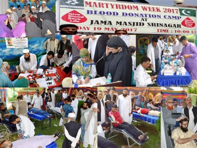 SKIMS administration disallows staff to participate in AAC organized Blood Camp