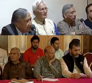 Kashmir based political party leaders join heads at OP Shah's Conference