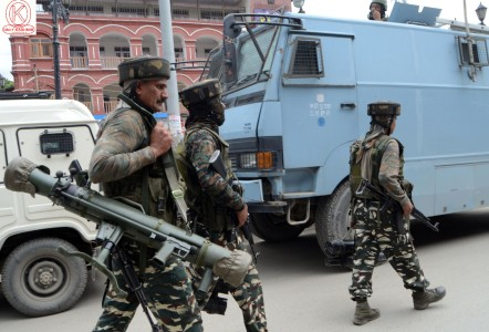 Government forces launched CASO in several parts of Srinagar