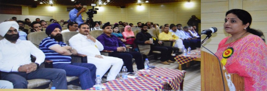 Kashmiri Youth's role vital in making 'New India': Priya Sethi