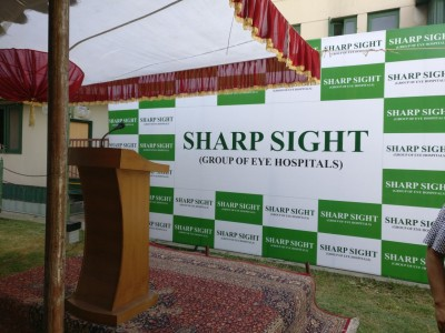Sharp Sight Forays to provide free of cost treatment to Pellet Victims