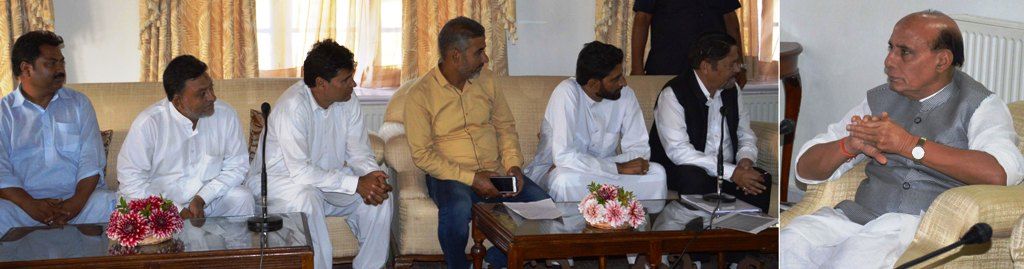 Several deputations call on Union Home Minister-9-2