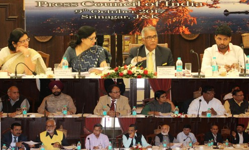 Press Council of India releases report on Media Scenario in JK