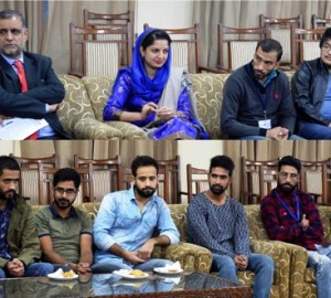 Media students' group calls on Chief Minister