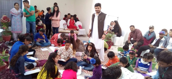 Rasiq Bhat launches NGO 'God's Grace' in Jammu