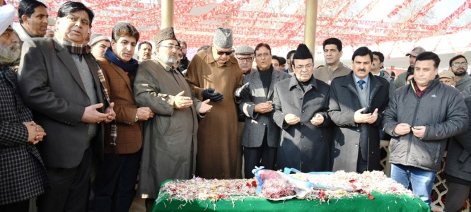 NC remembers Sheikh Abdullah on his Birth Anniversary