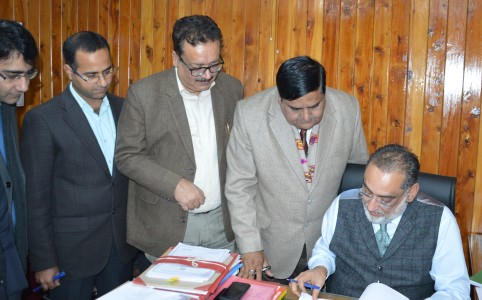 Finance Minister Dr Drabu to present 4th Budget in a row
