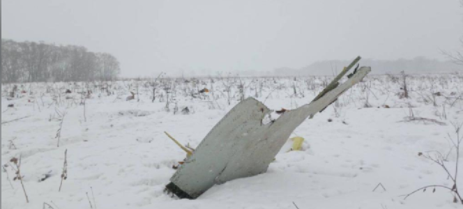 Russian transport confirms death of 71 passengers in plane crashes