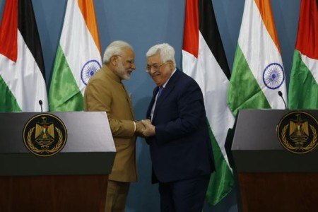 Modi in Palestine: India is committed to the Palestinian people's interests