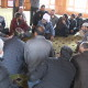 National Conference workers hold meeting inside the premises of Shrine