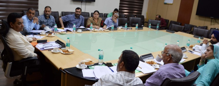 Empanelment Committee discusses online media guidelines for advertisements