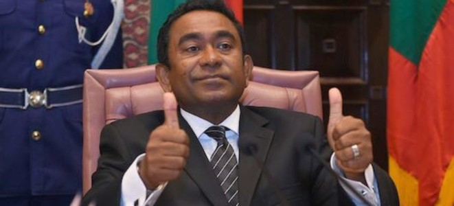 Maldives tells India not to interfere in internal matter, like we don't in Kashmir issue